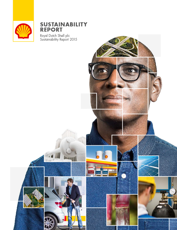 2015 Shell Sustainability Report